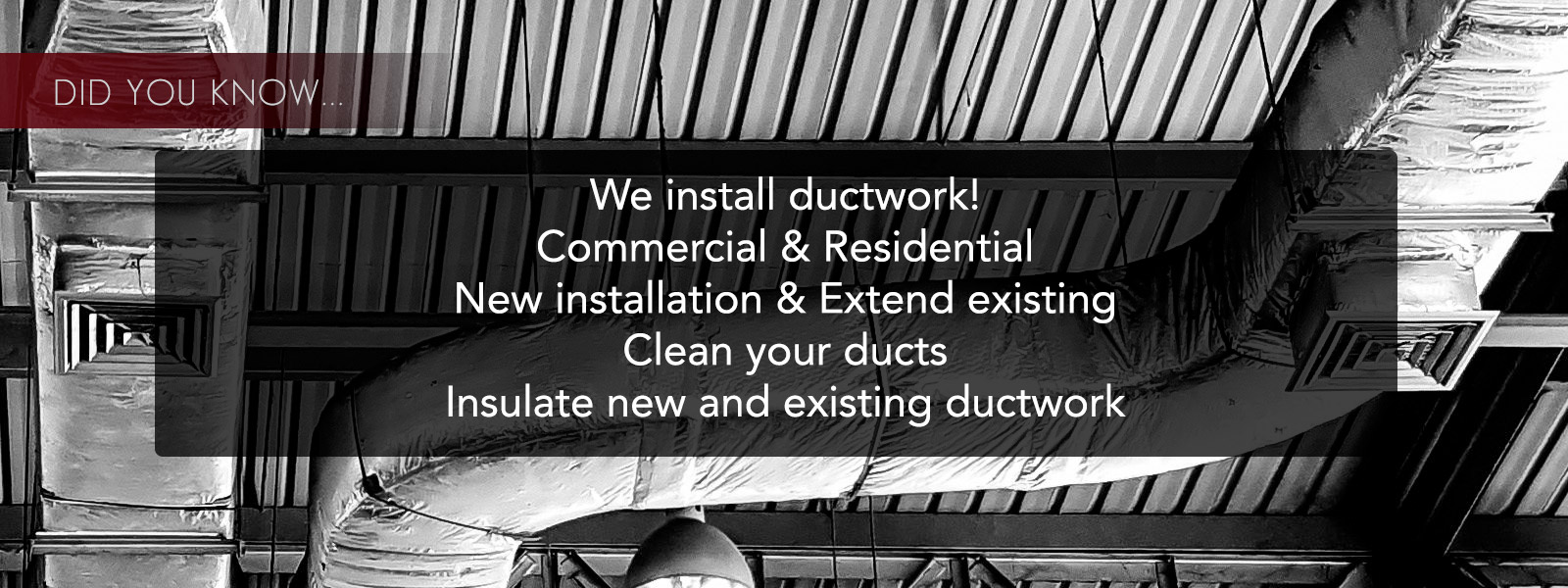 ductwork cleaning and instalation