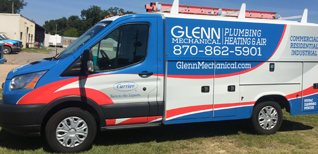 Glenn Mechanical plumbing, heating, air conditioning
